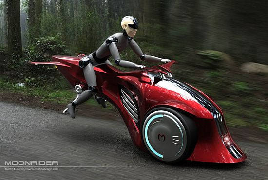 moonrider concept electric vehicle