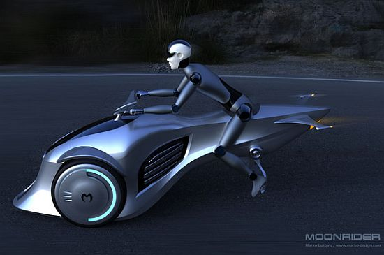moonrider concept electric vehicle by marko design