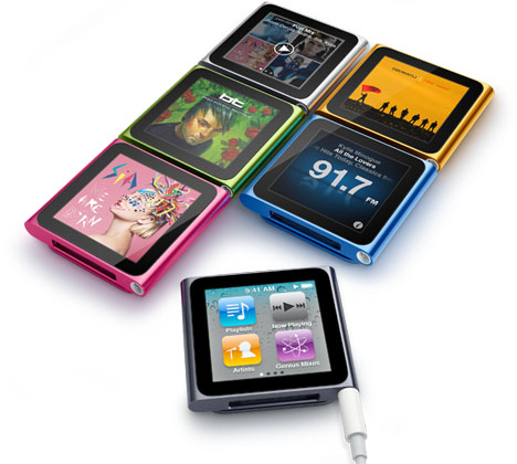 ipod nano with mult touch